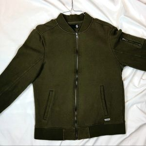 Olive Guess Men Jacket